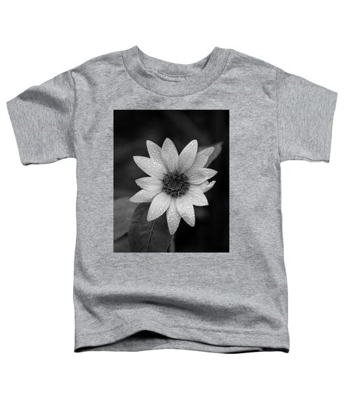 Dewdrops On A Sunflower Toddler T-Shirt