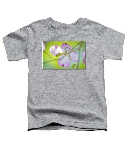 Dogwood Blossom In Spring Toddler T-Shirt
