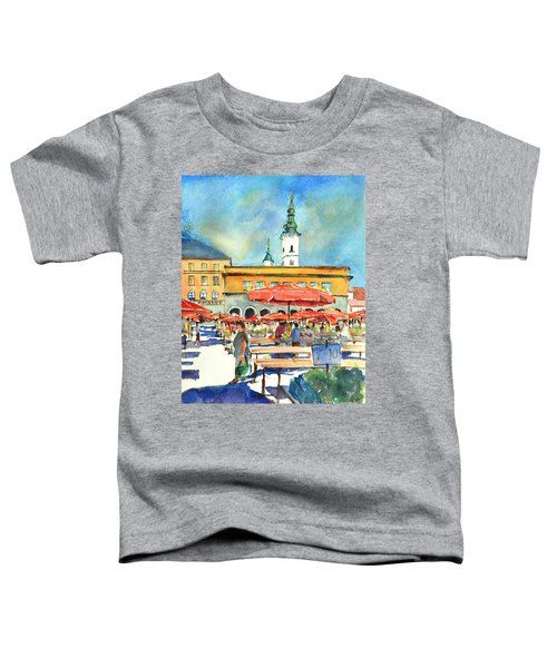 Dolce Market In Zagreb #1 Toddler T-Shirt