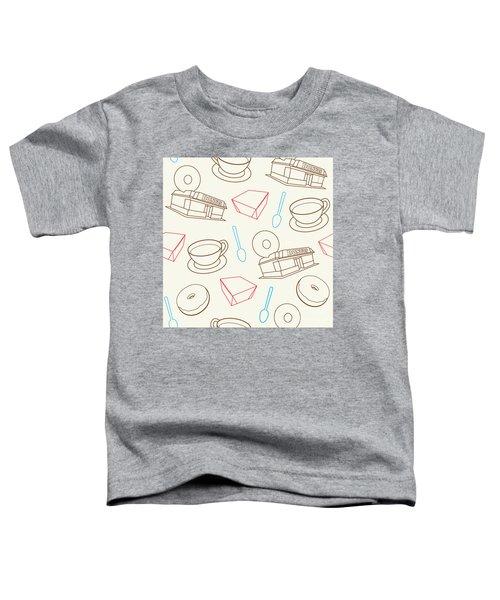 Doughnut_wallpaper_f3 Toddler T-Shirt