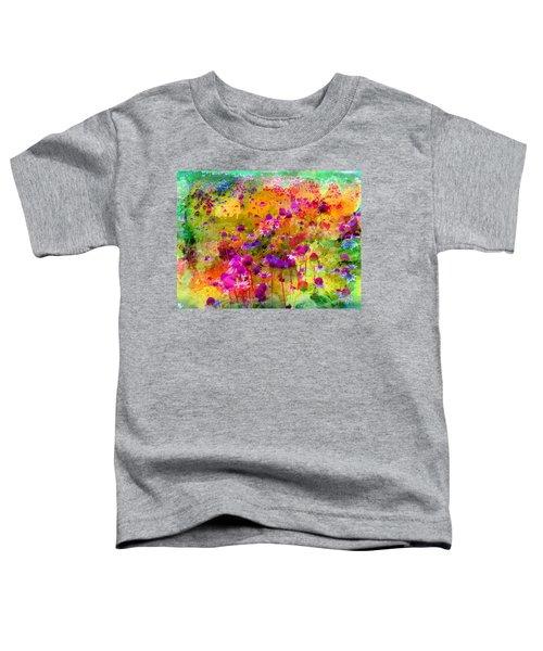 Dream Of Flowers Toddler T-Shirt