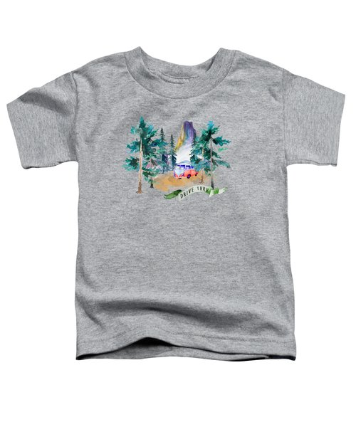 Drive Thru Toddler T-Shirt