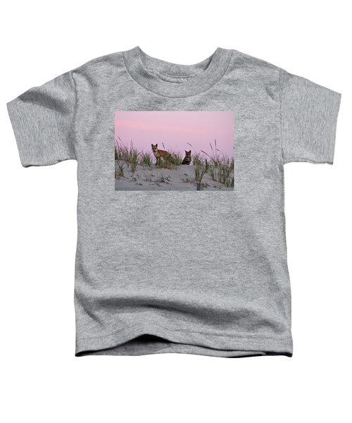 Dune Foxes Toddler T-Shirt