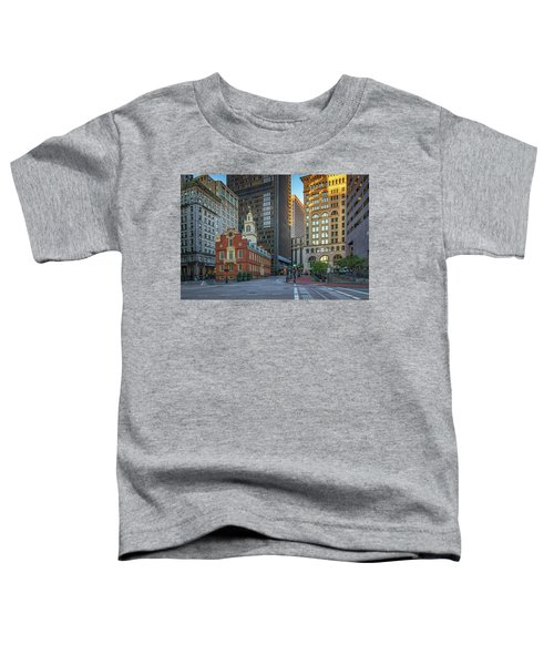 Early Morning At The Old Statehouse Toddler T-Shirt