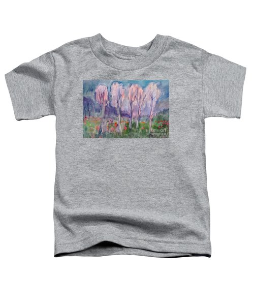 Early Morning In The Forest Toddler T-Shirt