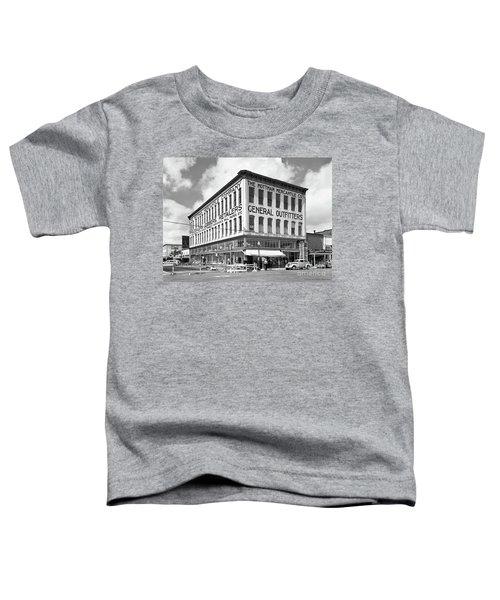Earthquake Mottman Bldg, April 1949 Toddler T-Shirt