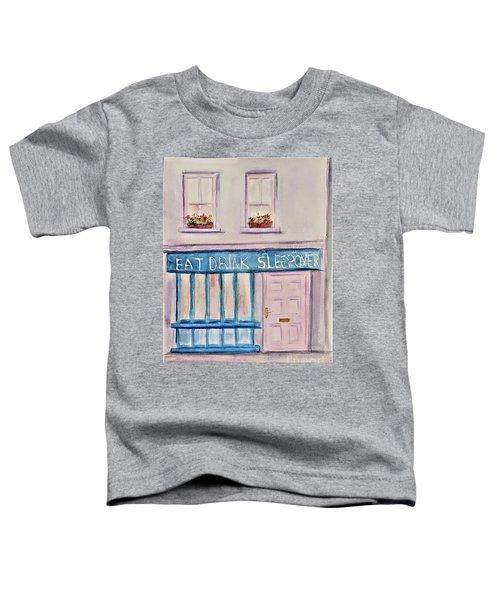Eat Drink Sleepover Toddler T-Shirt