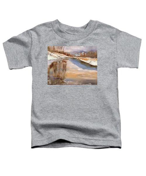 Edge Of Winter Toddler T-Shirt