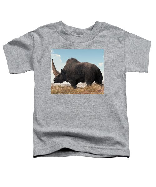 Elasmotherium Toddler T-Shirt