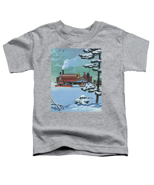 Engine Called Rurik Made In Glasgow In 1862 Toddler T-Shirt
