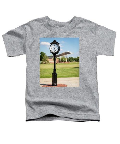 Evans Towne Center Park Clock - Columbia County Ga Toddler T-Shirt