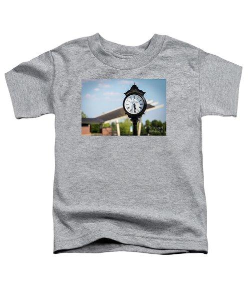 Evans Towne Center Park Clock - Evans Ga Toddler T-Shirt