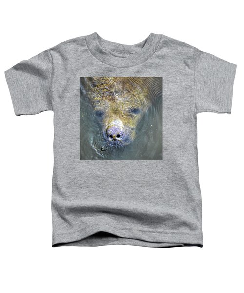 Face Of The Manatee Toddler T-Shirt