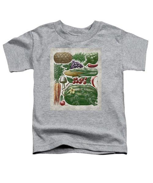 Farmer's Market - Color Toddler T-Shirt