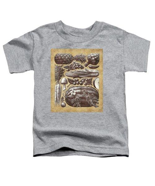 Farmer's Market - Sepia Toddler T-Shirt