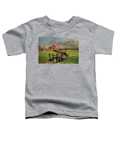 Farming In The 1880s Toddler T-Shirt