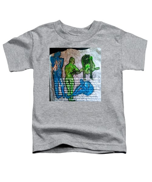 Fear Of The Inexplicable Toddler T-Shirt