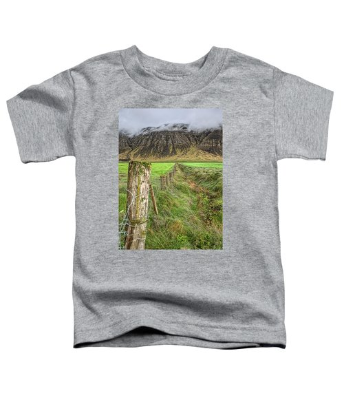 Fence Of Iceland Toddler T-Shirt