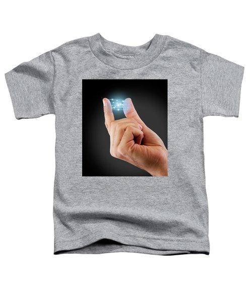 Fingertip Artificial Intelligence Toddler T-Shirt