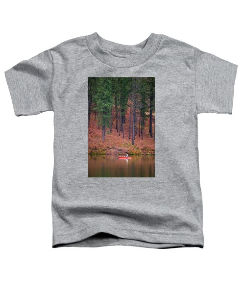 Fishing Fenton Lake Toddler T-Shirt