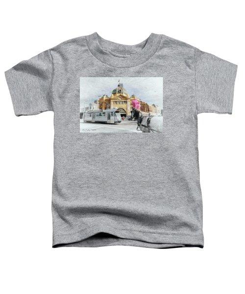 Flinders Street Station, Melbourne Toddler T-Shirt