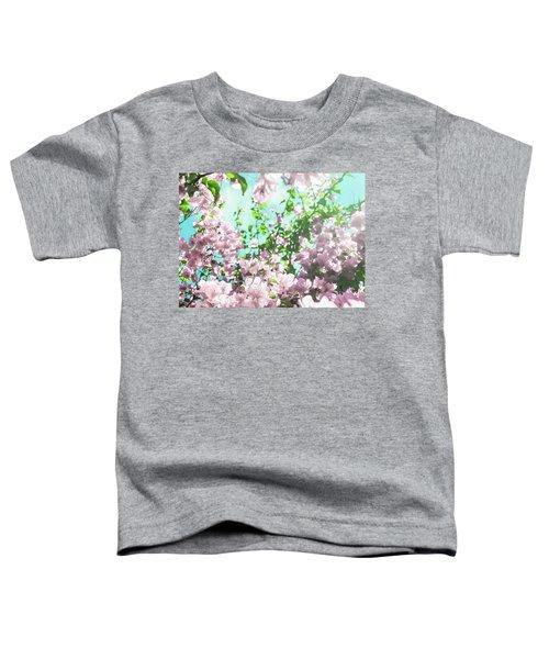 Floral Dreams V Toddler T-Shirt