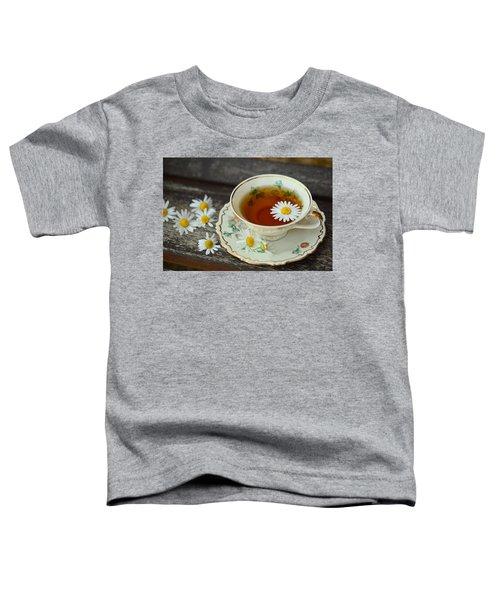 Flower Tea Toddler T-Shirt