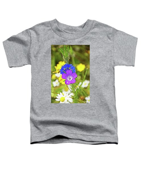 Flowers In The Meadow. Toddler T-Shirt