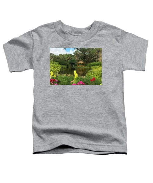 Flowers To Gazebo By The Lake Toddler T-Shirt