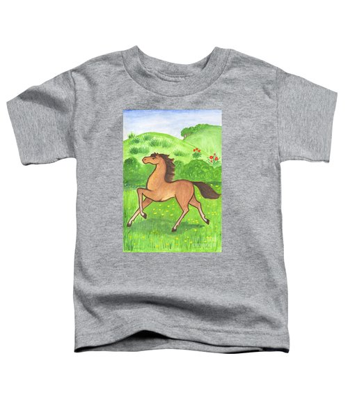Foal In The Meadow Toddler T-Shirt