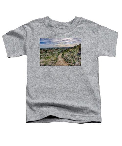 Following The Desert Path Toddler T-Shirt