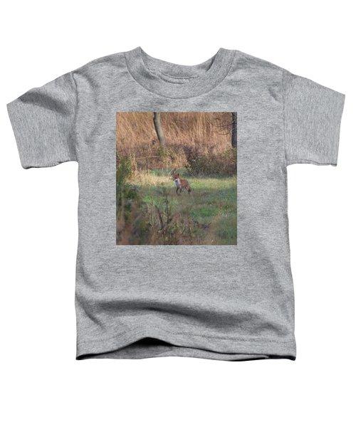 Fox On Prowl Toddler T-Shirt