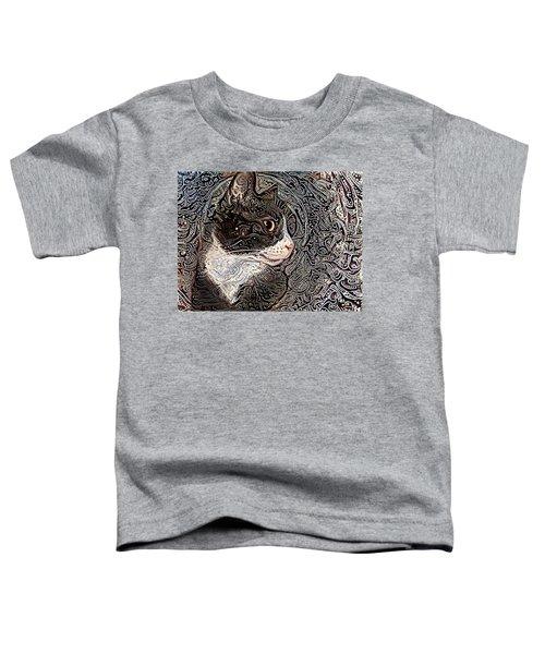 Franklyn The Tuxedo Cat Toddler T-Shirt