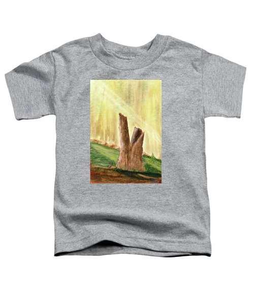 From Ruins Comes New Life Toddler T-Shirt