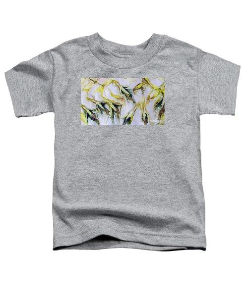 Fuchsia Eco Printed Magic Toddler T-Shirt