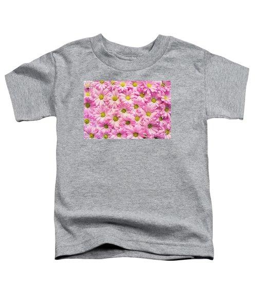 Full Of Pink Flowers Toddler T-Shirt