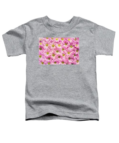 Full Of Pink Flowers Toddler T-Shirt