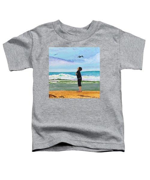 Gazing At Gulls Toddler T-Shirt