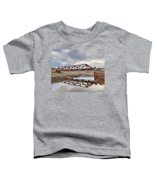 Ghost Bridge - Colebrook Reservoir Toddler T-Shirt