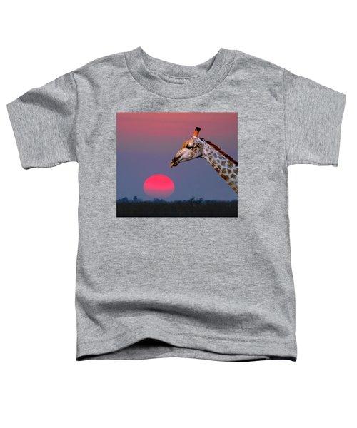 Giraffe Composite Toddler T-Shirt