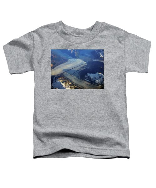 Glaciers Converge Toddler T-Shirt