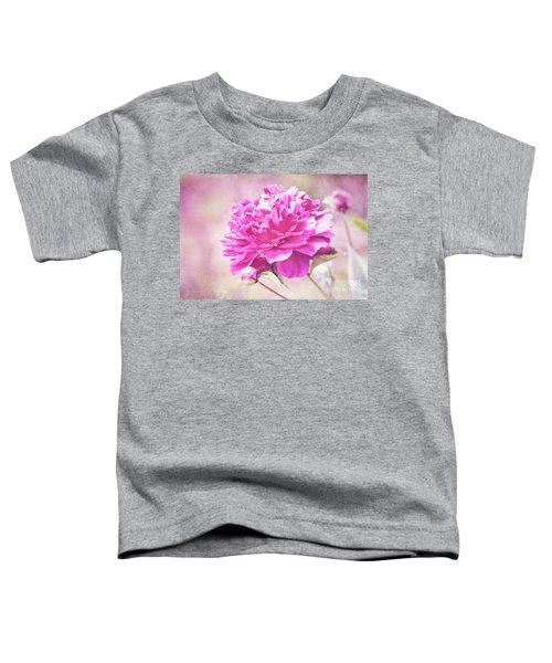 Glorious Pink Peony Toddler T-Shirt