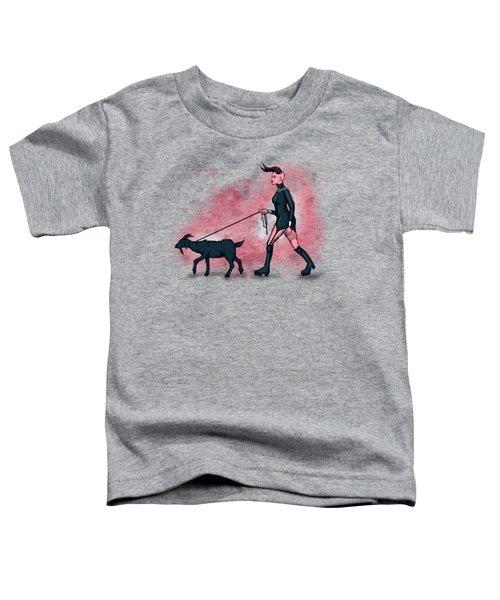 Goat Walk Toddler T-Shirt