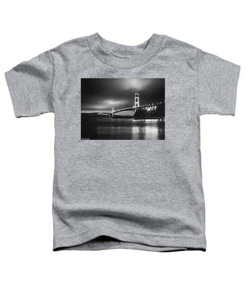 Golden Gate Bridge B/w Toddler T-Shirt