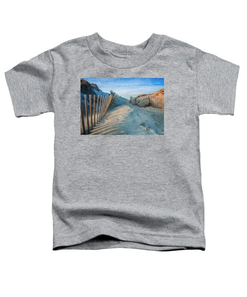 Golden Glow Dunes Toddler T-Shirt