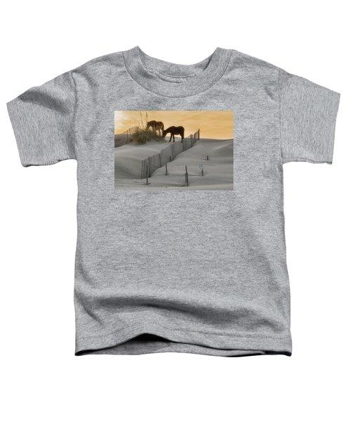 Golden Horses Toddler T-Shirt
