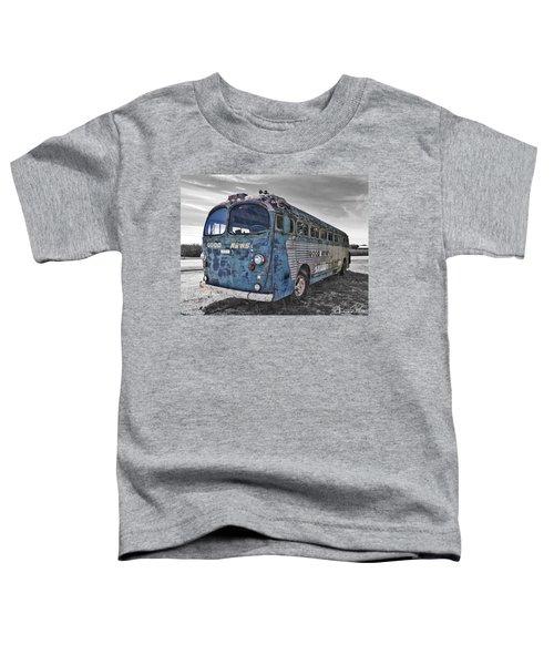 Toddler T-Shirt featuring the photograph Good News Still Travels by Andrea Platt