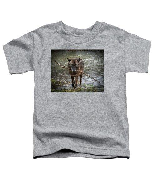 Got The Stick Toddler T-Shirt