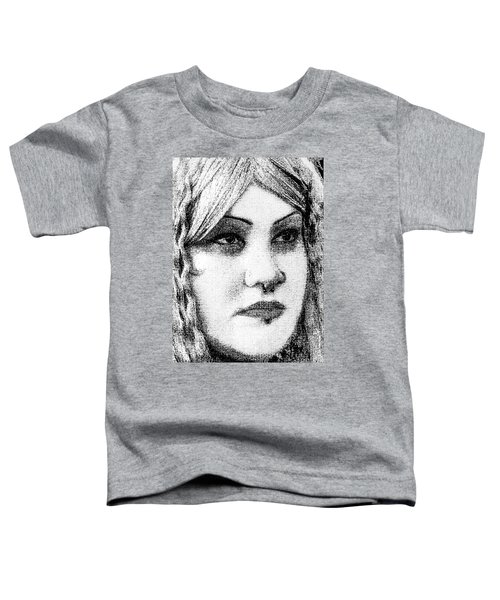 Goth Headshot Toddler T-Shirt