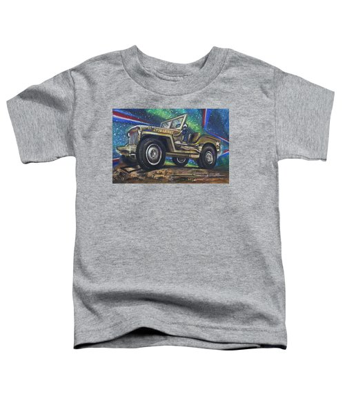 Grandpa Willie's Willys Jeep Toddler T-Shirt
